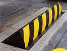 High tonnage hydraulic control checkpoint road blocker system , LED light warning