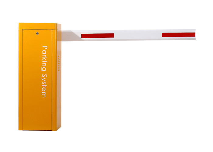 Low Cost 1.8 Second CE Approved Parking Barrier Gate  With  Yellow Automatic Lifting